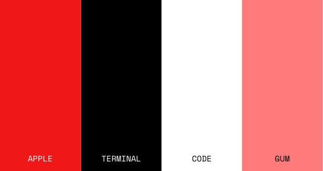 Fullstack Academy Color Palette