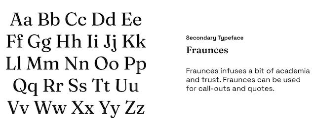 Fullstack Academy Fraunces Font