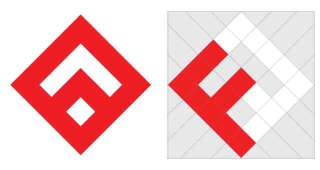 Fullstack Academy Logo Schematics