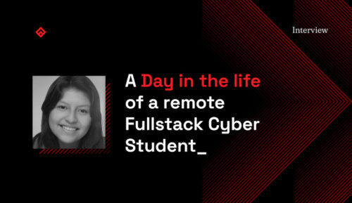 A day in the life of a fullstack cyber student