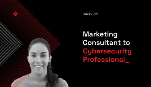 Interview Marketing Consultant to Cybersecurity Professional