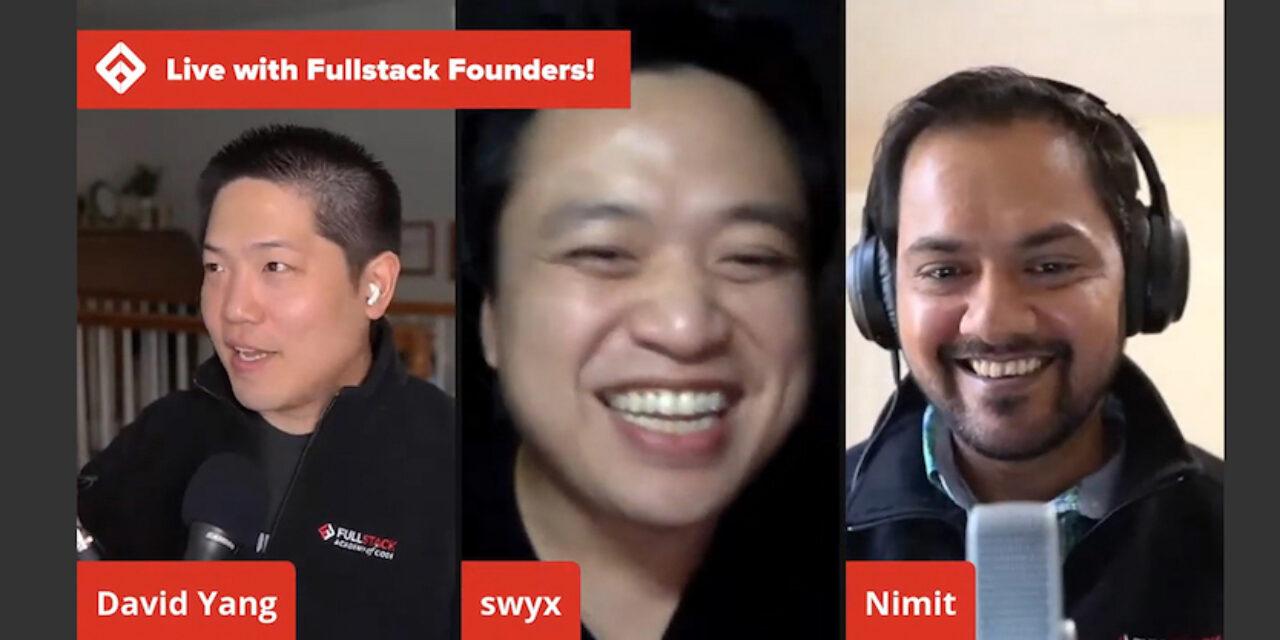 Fireside chat Shawn Wang