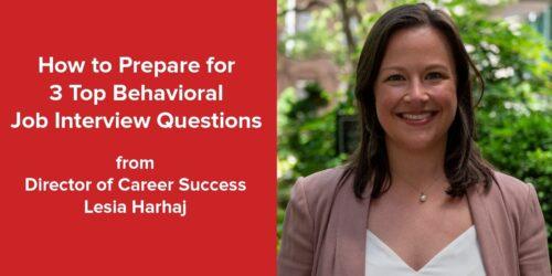 3 top behavioral interview qs