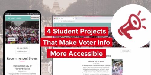 4 student projects that make voter info more accessible