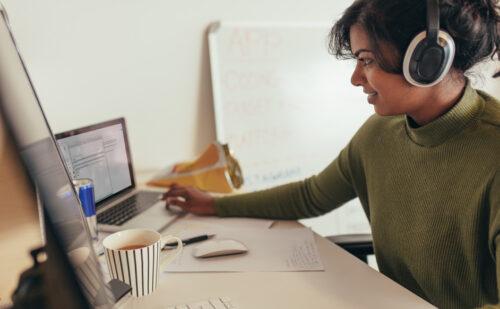 Woman programmer