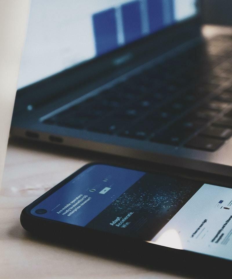 Phone and keyboard
